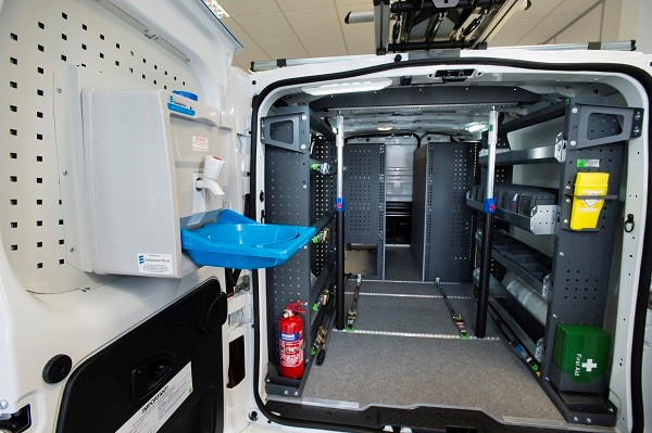 Ogilvie commercial vehicles fit out